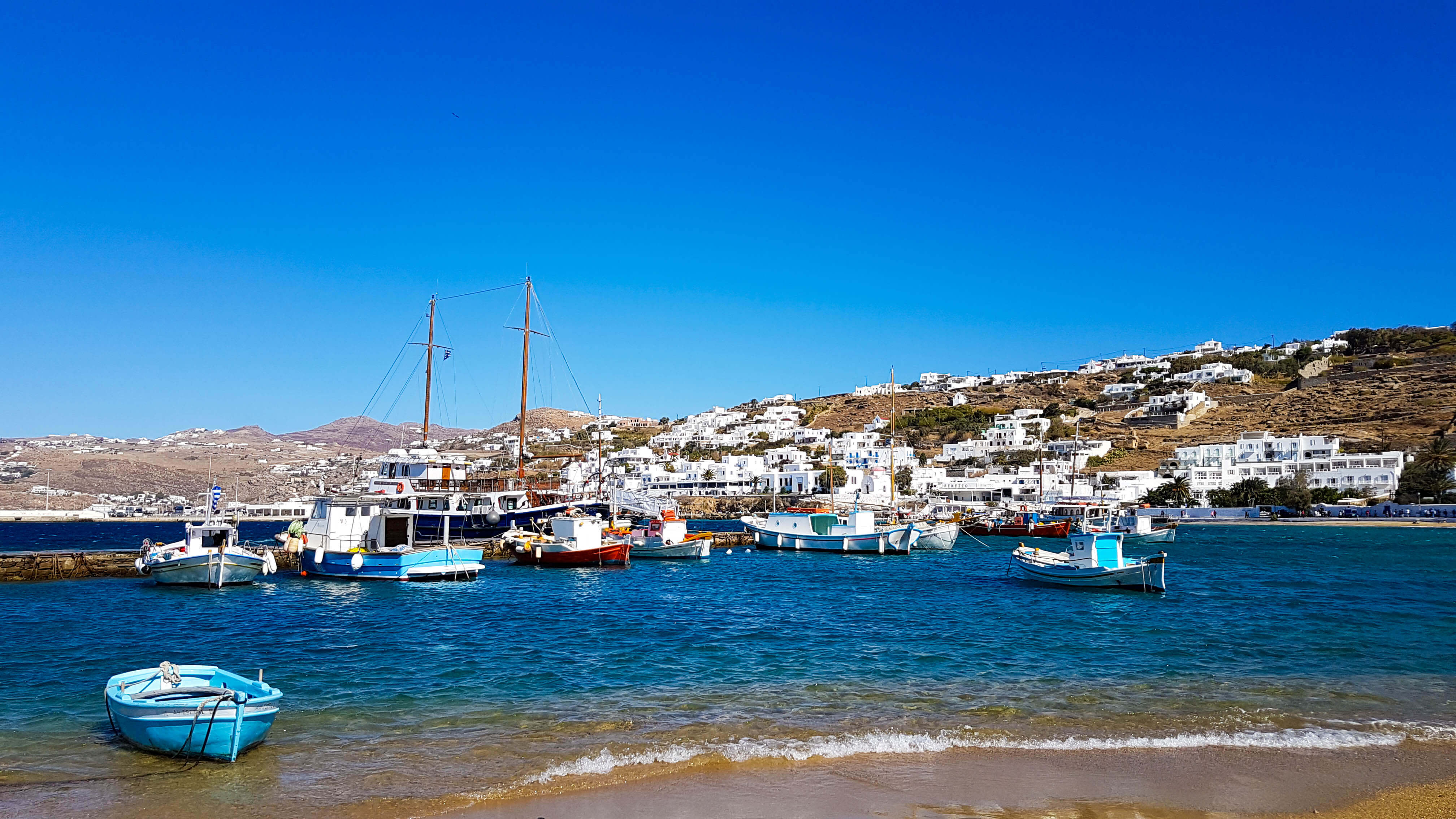 Mykonos, a day in the island of the winds